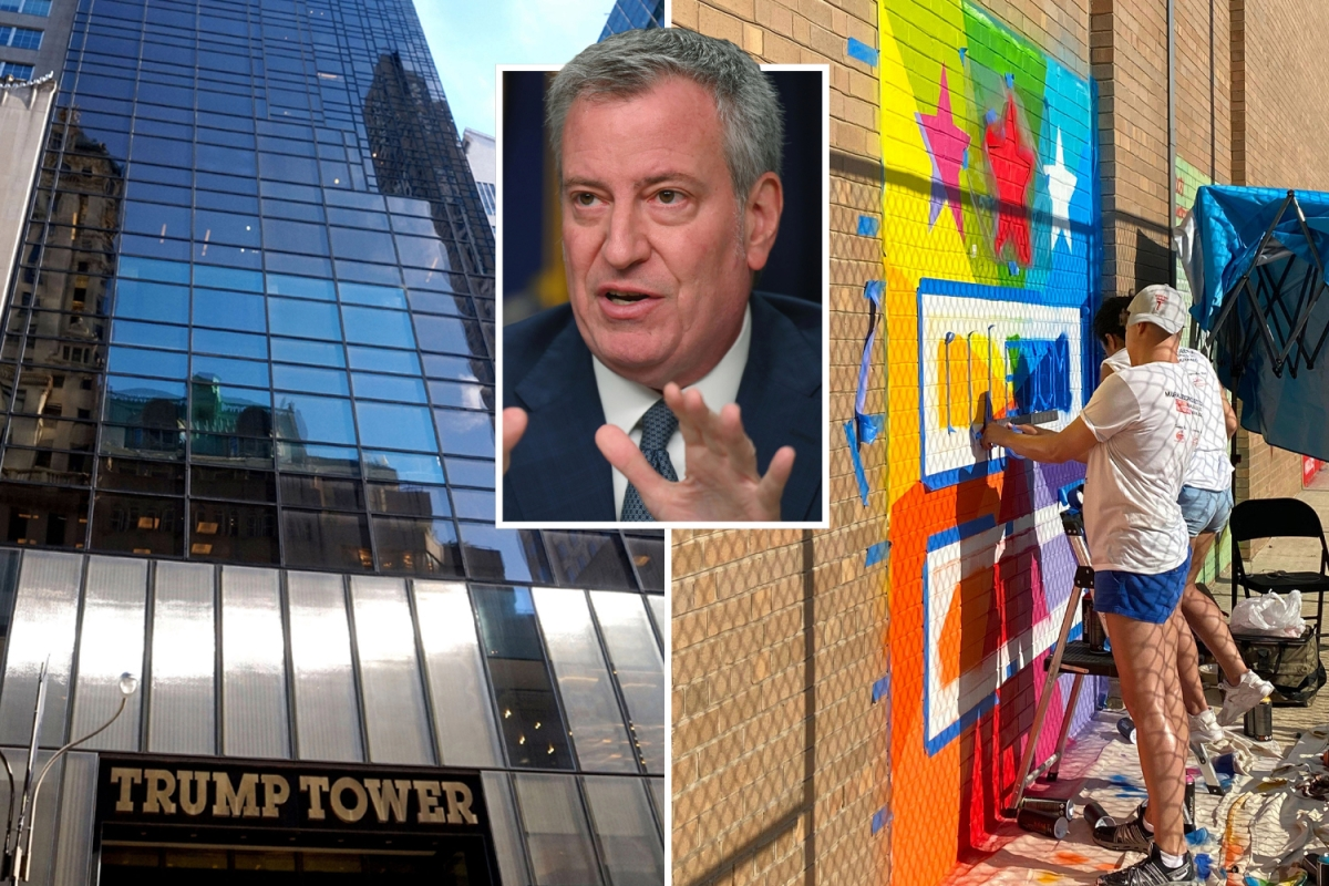 NYC to paint 'Black Lives Matter' in front of Trump Tower…