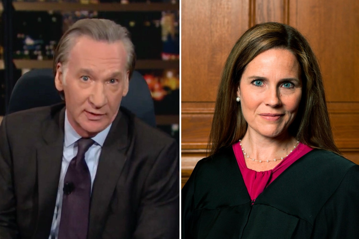 Bill Maher rips Judge Amy Coney Barrett as a 'religious ...