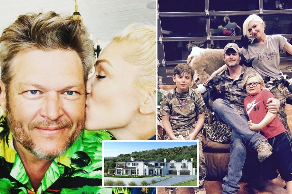 Gwen Stefani and Blake Shelton 'move into $13M LA home ...
