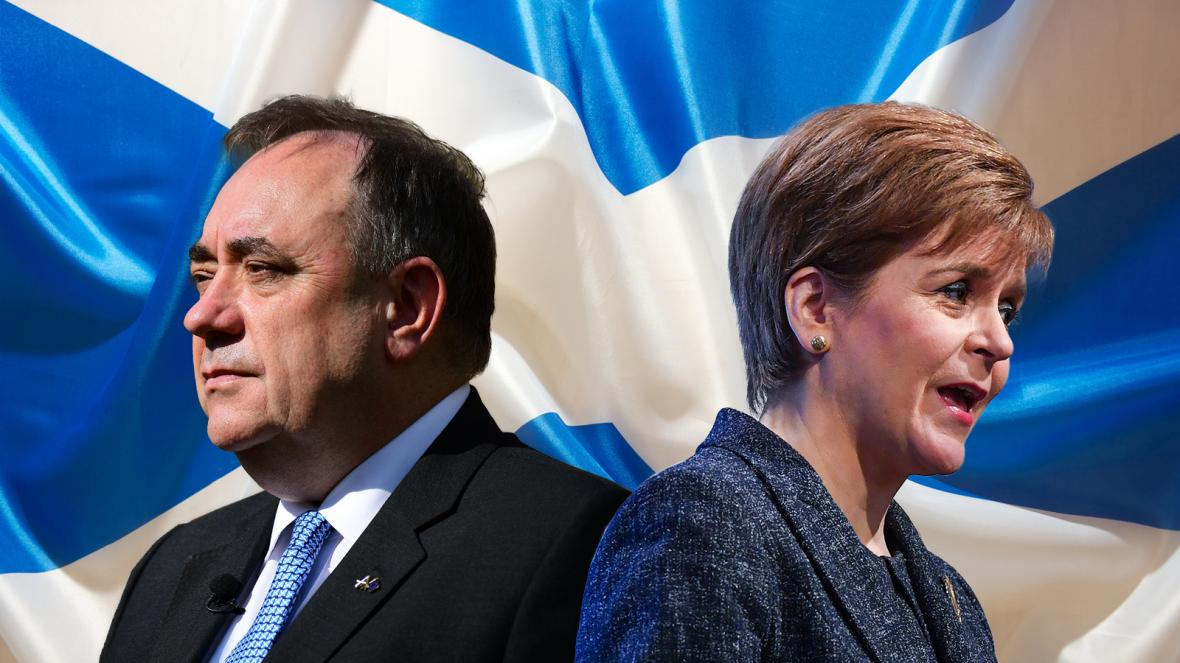 Salmond v Sturgeon could derail the independence express ...