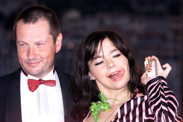 "Danish director Lars Von Trier, Golden Palm 2000 for his movie ""Dancer ..."