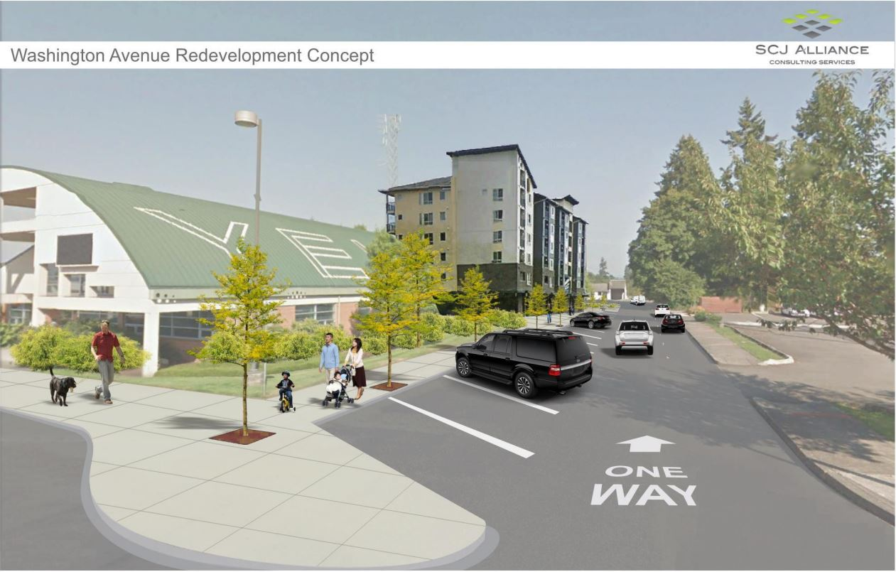 City of Yelm Reviewing Design Proposals for Center for Education and Economic Development ...