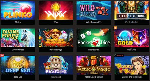 Des jeux avec croupiers en direct et les meilleures machines à sous sont disponibles chez Bitstarz.