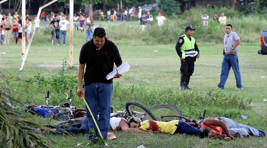 10 Countries With The Highest Murder Rates In The World