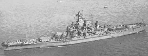 South Dakota class Battleships - Allied Warships of WWII ...