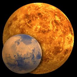 Mars and Venus - Universe Today