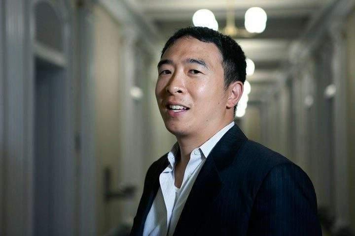 Yang 'looking' at running for mayor of New York City…