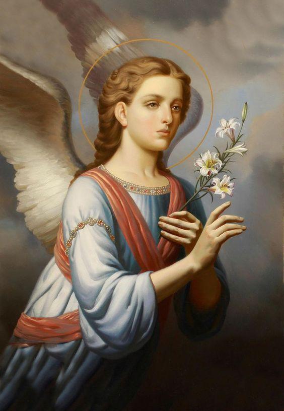 Arcángel San Gabriel Oración por todos los enfermos de Cáncer