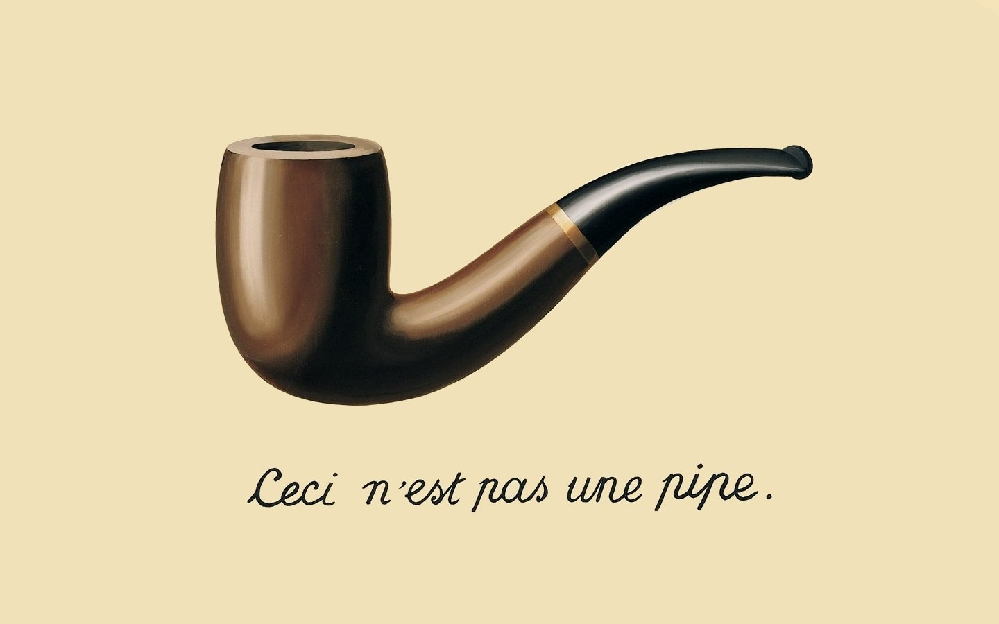 Rene Magritte, The Treachery of Images
