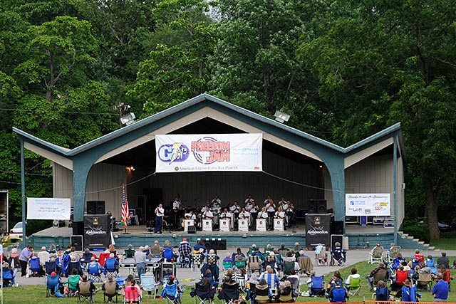 Glen Miller Park Bandshell - Wayne County, Indiana