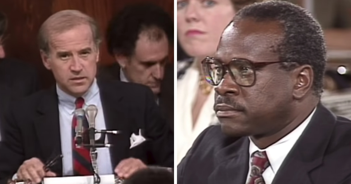Flashback: Biden Rejected FBI's Clarence Thomas Report