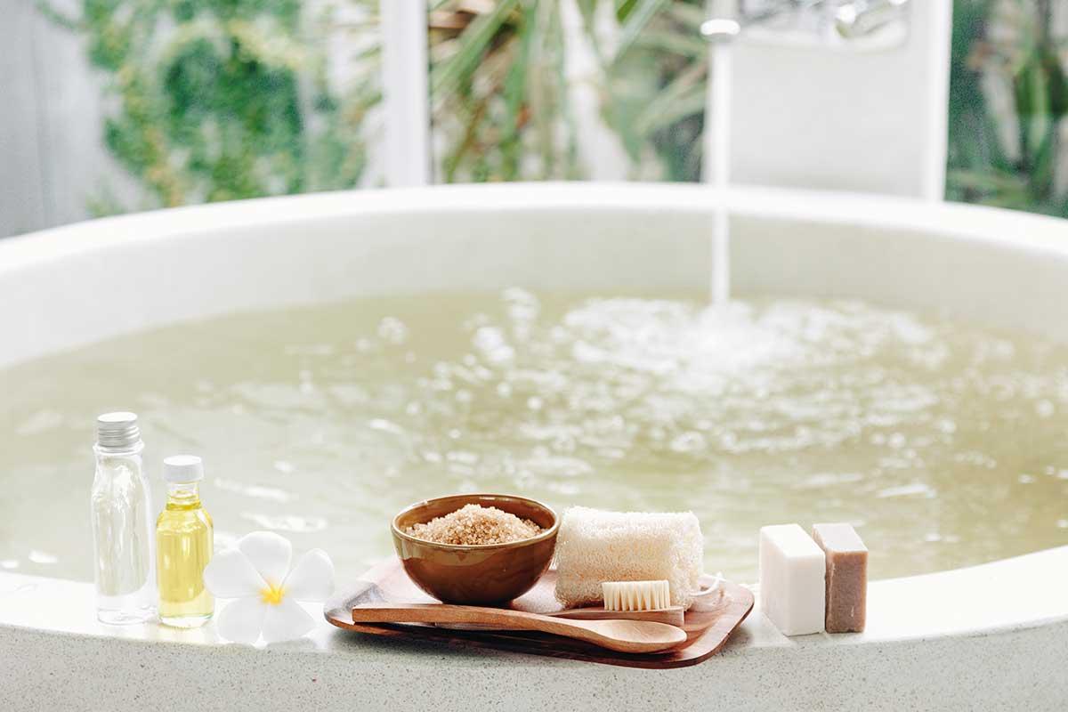 The Healing Power of an Epsom Salt Bath   White Water