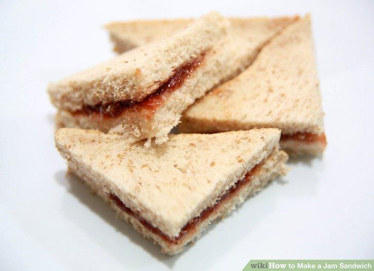 4 Ways to Make a Jam Sandwich - wikiHow