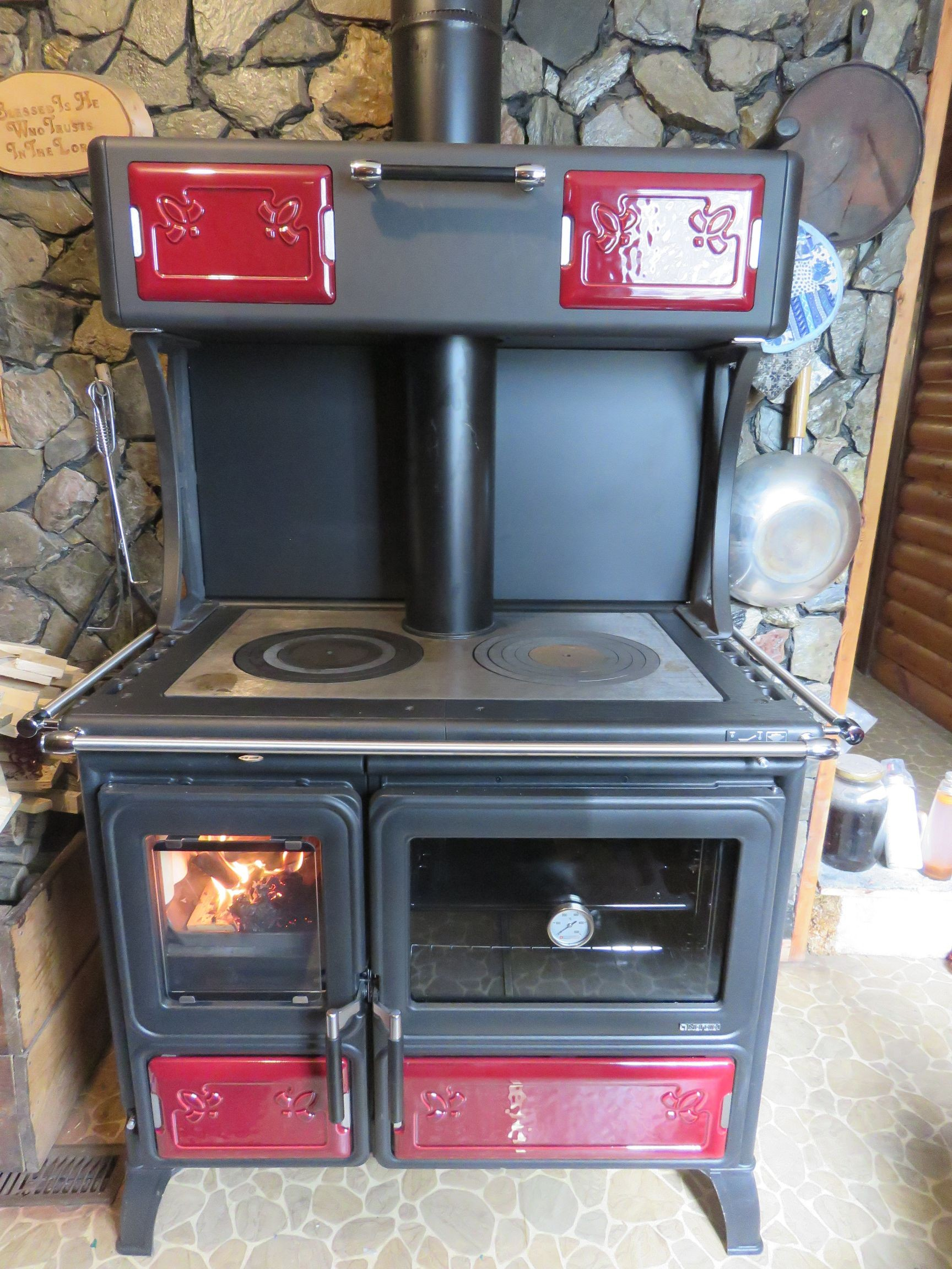 """Wood Burning Cook Stove La Nordica """"Milly"""""""