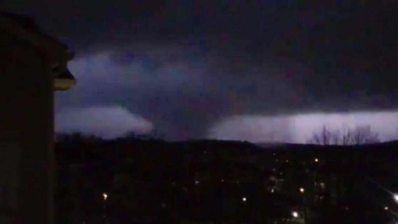 Tornado crosses through downtown Nashville; Widespread ...