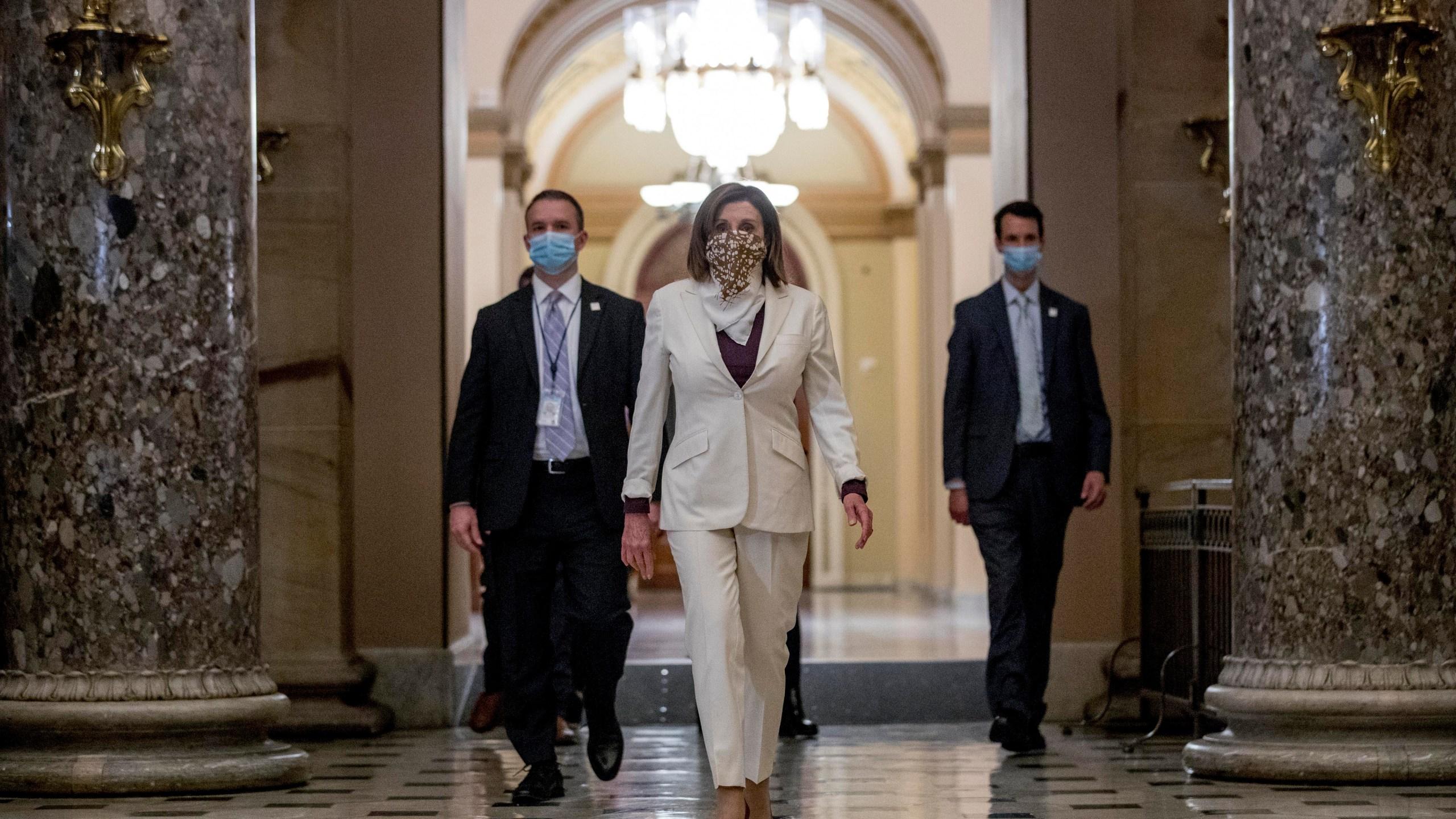 White House predicts Pelosi to `yield' on impeachment ...