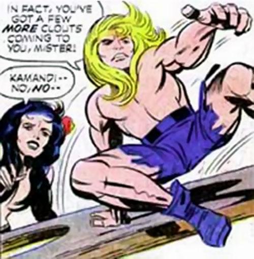 Kamandi - DC Comics - Jack Kirby - Character Profile - Writeups.org