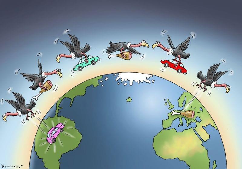 """Debakel Mercosur:""""Alman otomobiline karşılık bozulmuş et ..."""