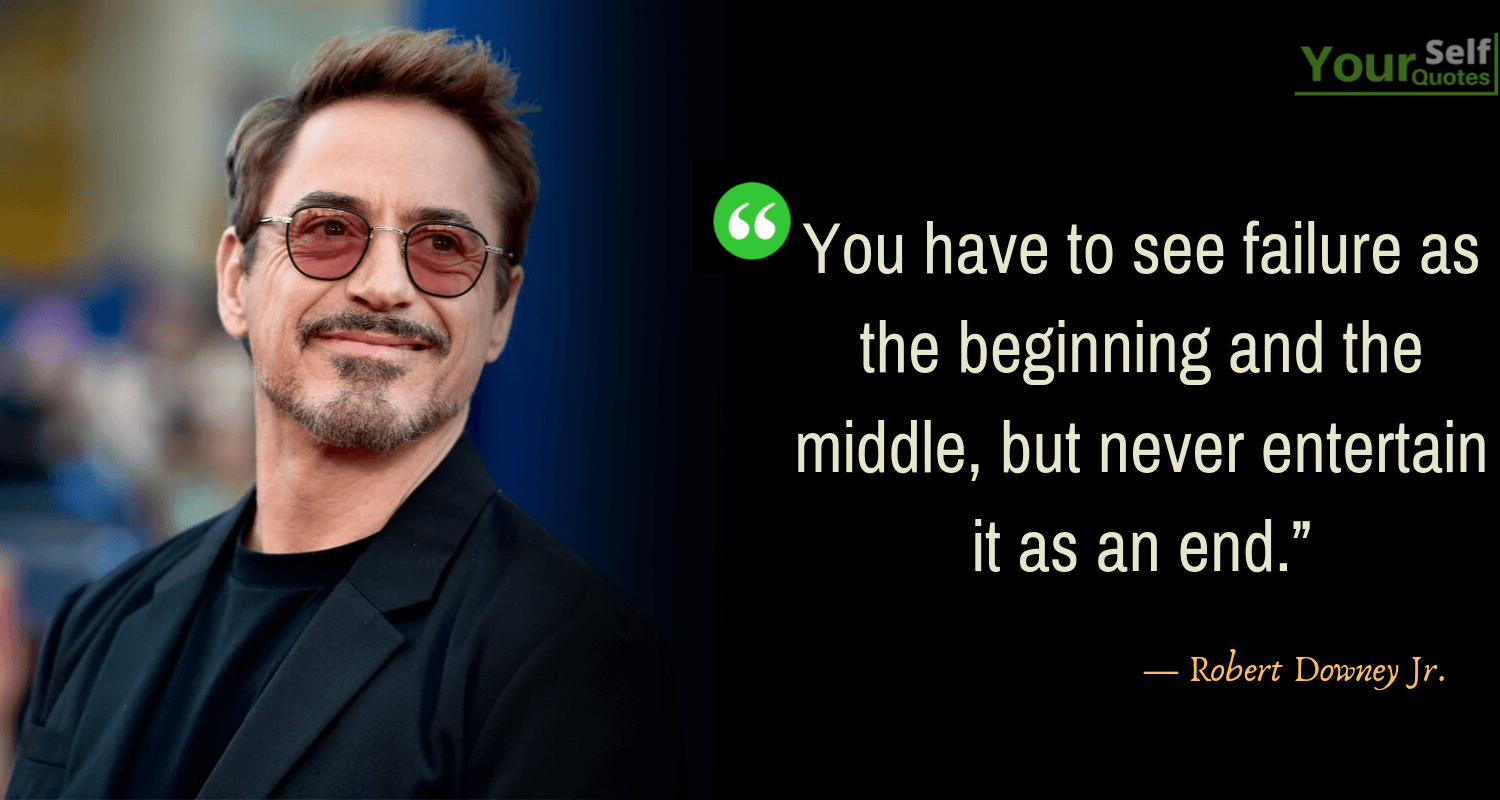 Robert Downey Jr. Quotes That Will Make You Starry