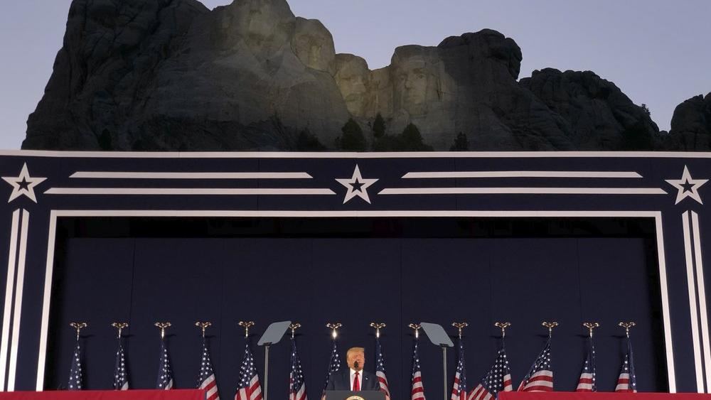 President Trump Defends Freedom at Mount Rushmore, Announces National Garden 'Honoring Greatest ...