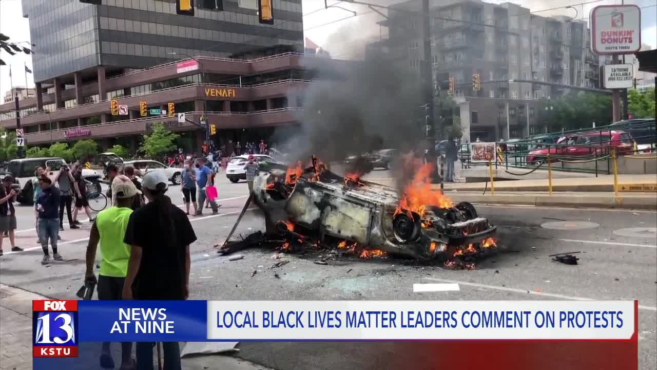 'Black Lives Matter did not hold a protest yesterday': BLM ...