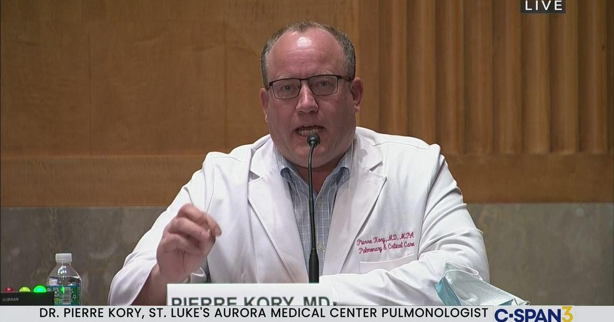 User Clip: Dr. Pierre Kory | C-SPAN.org
