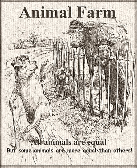 All Animals are Equal, but… | YesterYear Once More