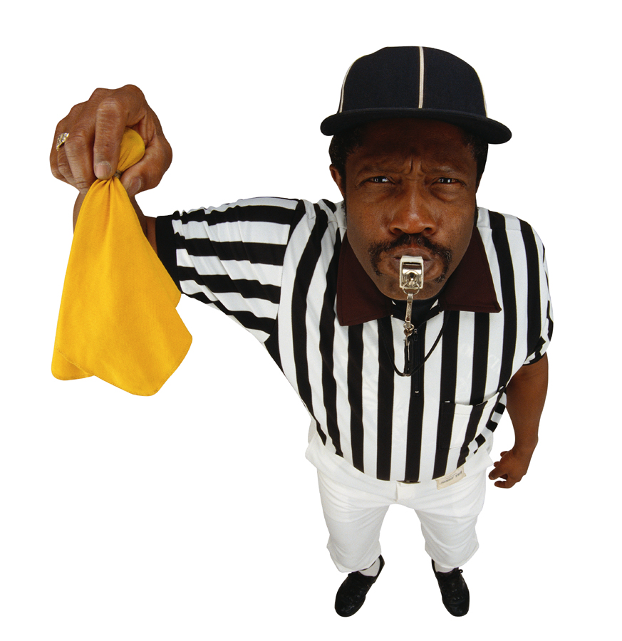 Youth Football Referees-Talking to Officials