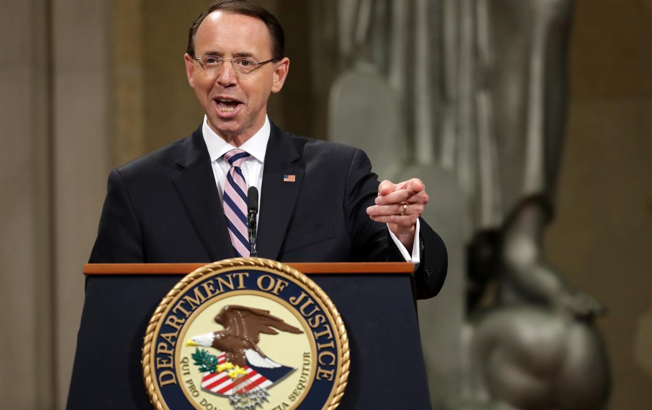 Rosenstein asked Mueller to investigate already-discredited Steele dossier allegations, memo reveals…