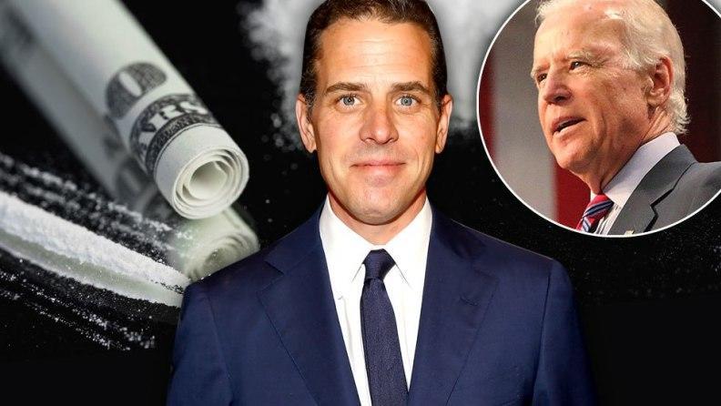 Hunter Biden says he's broke…