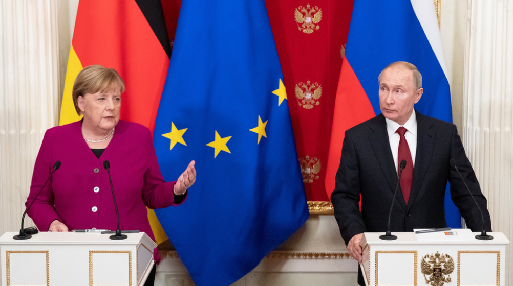 "Putin & Merkel Urge All Parties Back To Iran Deal – Vow To Preserve ""By All Means""…"