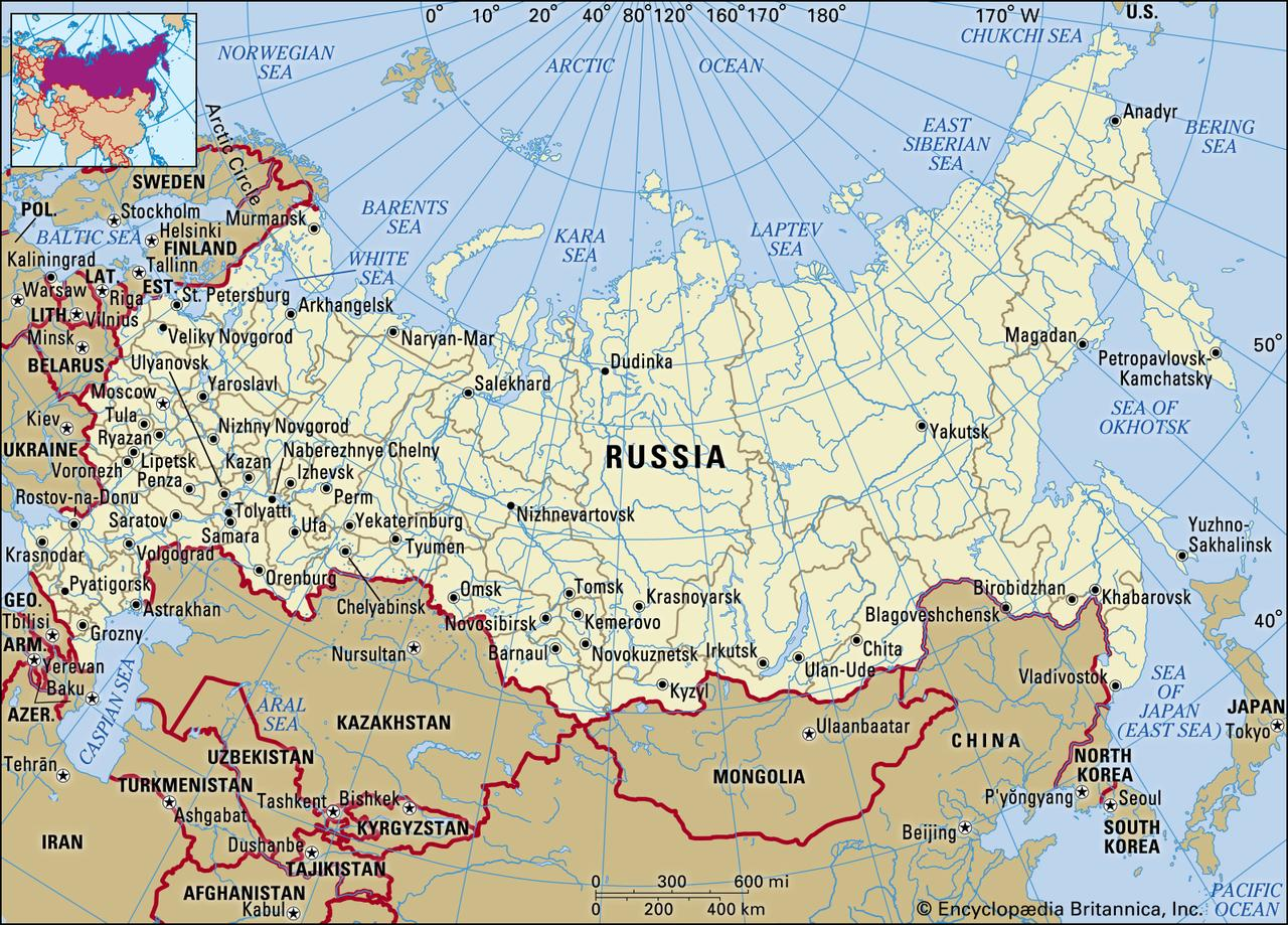 Russia To Close All Borders Monday After Banning International Flights…