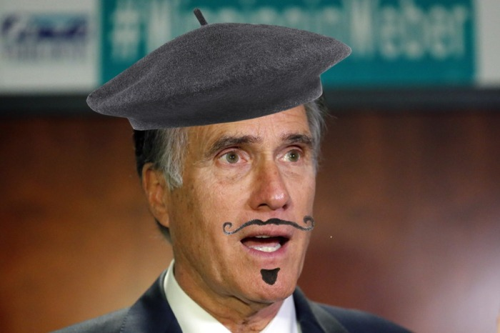 Sen. Pierre Delecto Ends the Career of Sen. Mitt Romney | '56 Packard Man