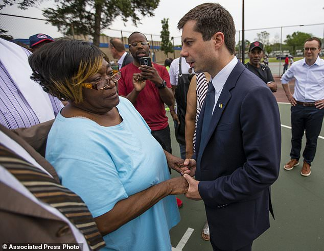 Buttigieg criticized after police killing of black man | Daily Mail Online