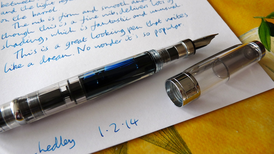 TWSBI-Diamond-580-fountain-pen-uncapped.