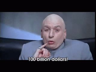 We Hold The World Ransom For... GIF - AustinPowers DrEvil ...