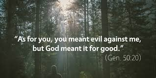 God is always working for the good