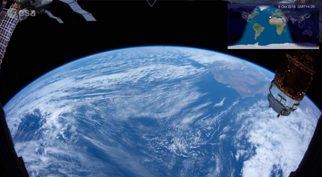 Pic from iss